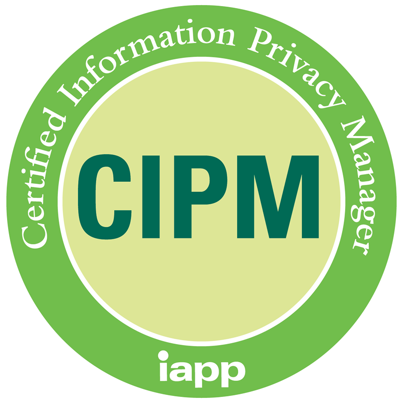 CIPM Certified Information Privacy Manager